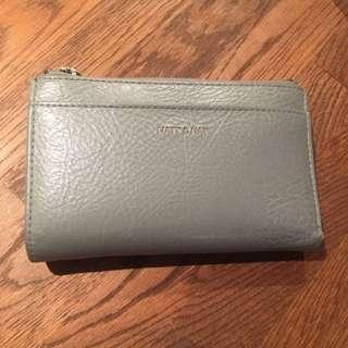 Matt & Nat Motiv Sm Wallet In Gravel