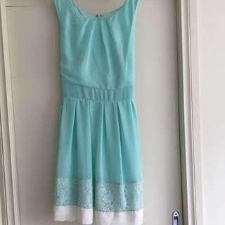 Size 14 Mint Green Dress