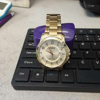 Original Casio Gold Watch