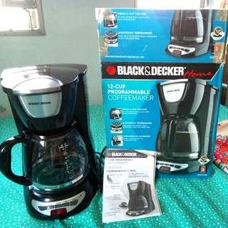 BLACK & DECKER COFFEEMAKER