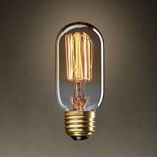 Vintage Edison Tungsten Light Bulb
