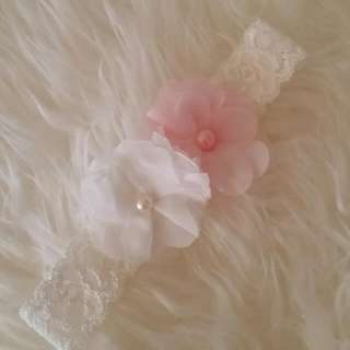 New Handmade Baby Girl's Lace Headband