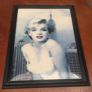 Marilyn Monroe Holographic Picture