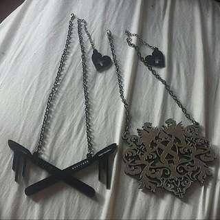 Amelia Arsenic Necklace Set (2 necklaces)