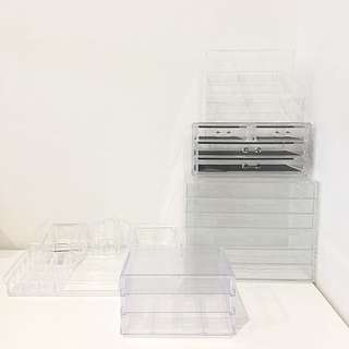 Makeup acrylic organizer Bundle