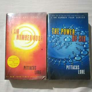 [2-in-1] I Am Number Four and Power Of Six by Pittacus Lore