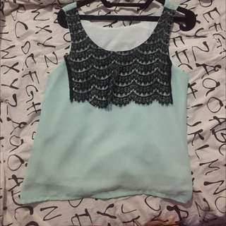 Tank Top Lace Tosca
