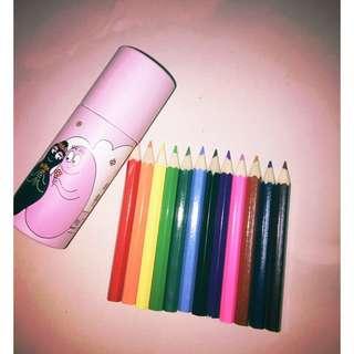 泡泡先生12色色鉛筆