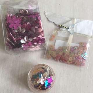 Payet bunga  ( bahan prakarya / scrapbook)