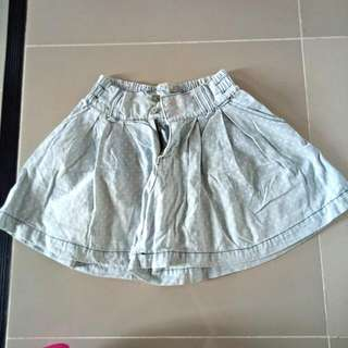 Highwaisted Skort 26-29