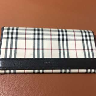 Fast Deal $70-Authentic Burberry Long Wallet
