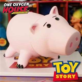 Toy Story 玩具總動員 盒裝 迪士尼 火腿豬 邪惡豬排博士 撲滿 存錢筒 生日禮物 交換禮物 盒裝 豬 豬排