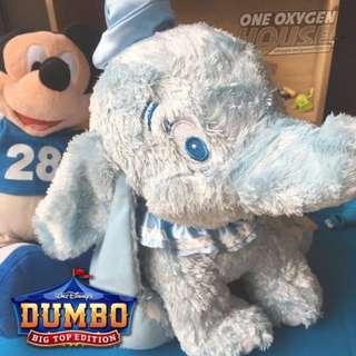 🚚 迪士尼 絕版 稀有 小飛象 DUMBO 特別版 玩偶 絨毛 娃娃 玩具 公仔 藍色 限量 30公分