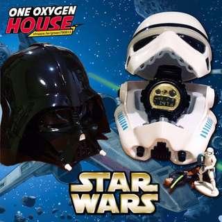 星際大戰 STAR WARS 黑武士 白武士 白兵 收納盒 錶盒 菸灰缸 煙灰缸 盒子 玩具 擺件 公仔