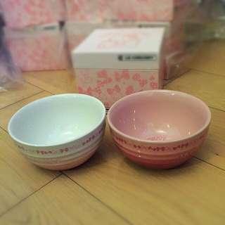 Le creuset Hello Kitty Bowl Set