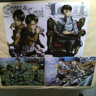 attack on titan(進撃の巨人) poster