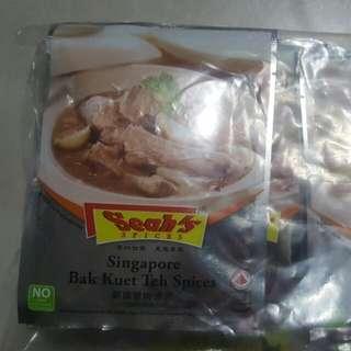 新加坡 肉骨茶包 (10包)