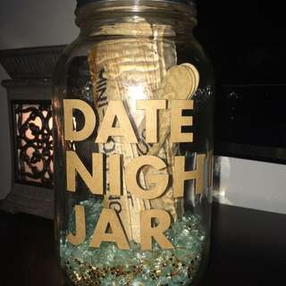 DATE NIGHT JAR $12