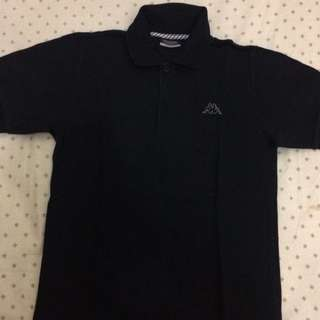 Polo Shirt Kappa Black
