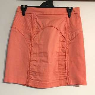 Peach Coloured Skirt