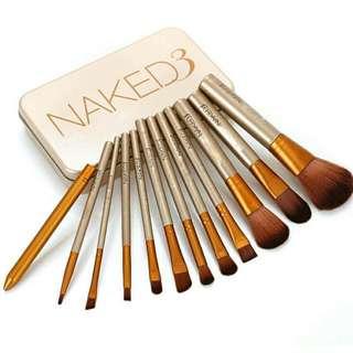Naked3 Brush Set (12 Pcs.)