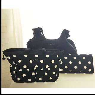 Agnes B Diaper Bag