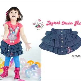 Rok Jeans Layer