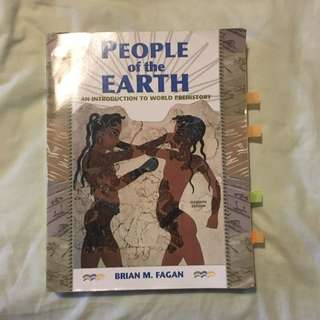 People Of The Earth - An Intro To World Prehistory