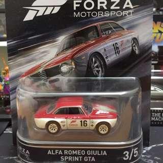 Hot Wheels Forza Alfa Romeo Giulia Sprint GTA
