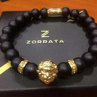 14k Gold Lion Bracelet (Man)