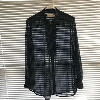 ZIMMERMANN Tuxedo Shirt, Size 2 (10-12)