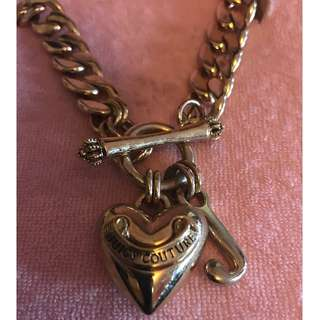 Juicy Couture Thick Gold Starter Necklace