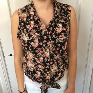 Floral Cami Size S