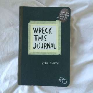 Keri Smith Wreck This Journal