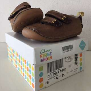 Clarks First Shoes ( Cruising) Leather