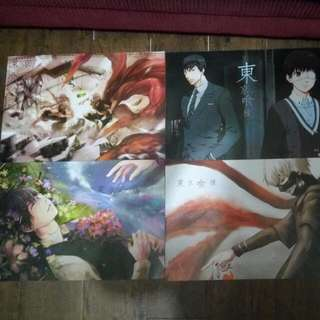 Anime Posters-Tokyo Ghoul And Aot