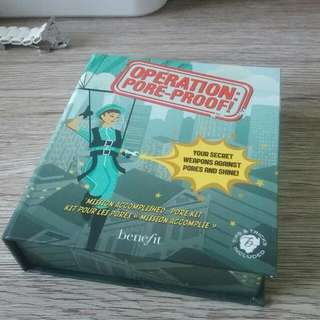 Benefit Operation Pore-proof