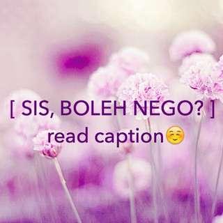 NEGO? read caption👇🏻
