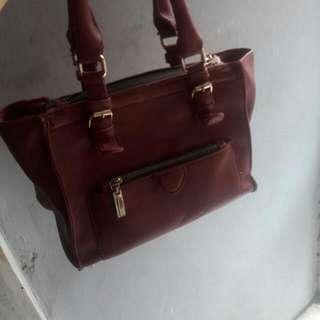 Zara City Bag Red