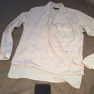 Sheike Size 6, 34 Long Sleeve Blouse