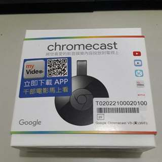 Chromecast 二代!隨意賣。