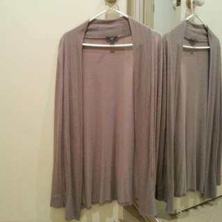 Lovely grey cardigan.Almost brand new. Size would fit Au 6-10; XS-M