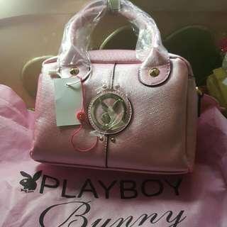 Playboy  Bunny購自美國超靚沙面粉紅色小有款