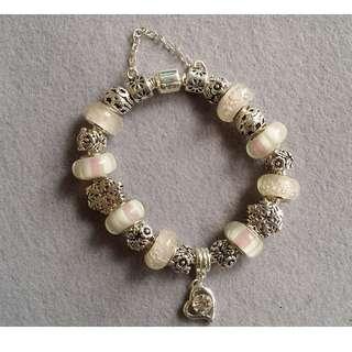 Pnadora Inspired Charm Bracelet 01