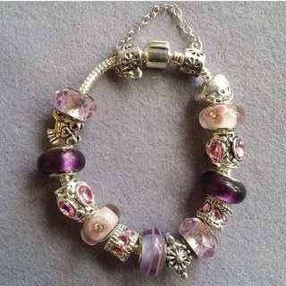 Pandora Inspired Charm Bracelet 001