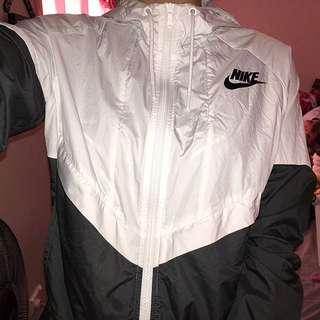 Nike Black & White Windbreaker