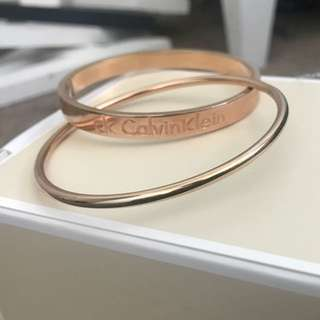 CK Bangle Rose Gold