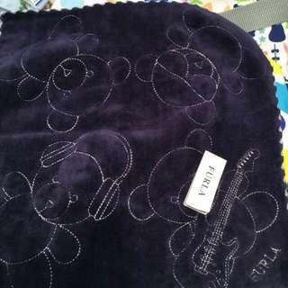 日本FURLA熊熊方巾