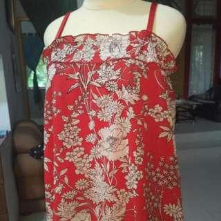 serba bisa...😋 rok,kemben,tanktop bunga merah #subsidionkir5kselamabulanmaret