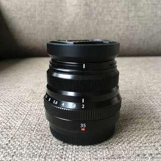 Fujinon Fuji XF 35mm f2 WR